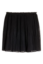 Pleated skirt - Black - Ladies | H&M 2