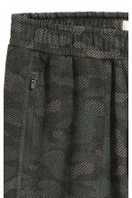 Sports trousers - Khaki green/Patterned - Men | H&M 3