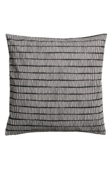 Slub weave cushion cover