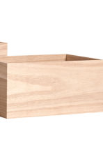 2-pack small wooden boxes - Natural - Home All | H&M CN 2