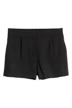 City shorts - Black - Ladies | H&M CA 2