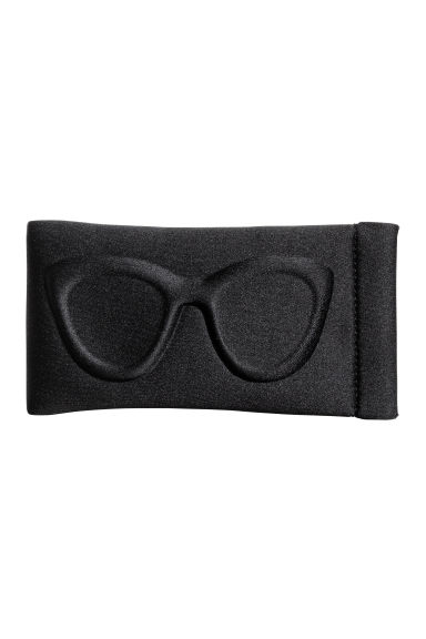 Scuba fabric glasses case - Black - Ladies | H&M 1