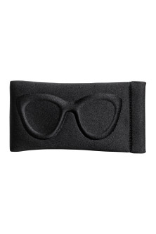 Scuba fabric glasses case
