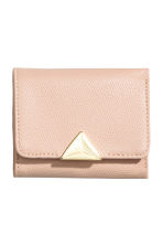 Small wallet - Powder - Ladies | H&M CN 1