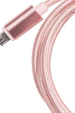 Android charging cable - Rose gold - Ladies | H&M CN 2