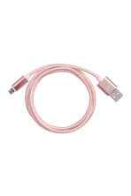 Android charging cable - Rose gold - Ladies | H&M CN 1