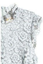 Lace dress - Light grey blue - Ladies | H&M CA 3