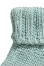 Knitted socks - Turquoise - Kids | H&M CN 2