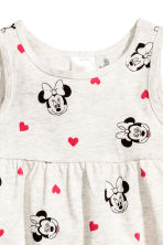 平紋洋裝 - Light beige/Minnie Mouse - Kids | H&M 2