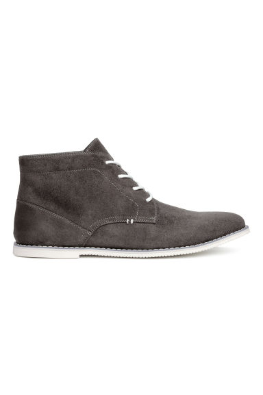 Desert boots - Nearly black - Men | H&M CN