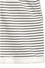Sweatshirt shorts - White/Striped - Ladies | H&M CN 3