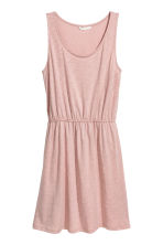 Sleeveless jersey dress - Pink - Ladies | H&M CN 2