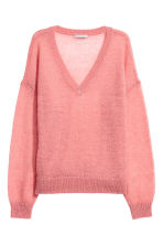 Wool-blend jumper - Pink - Ladies | H&M CN 2