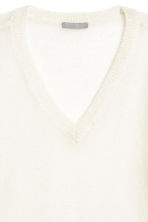 Wool-blend jumper - White - Ladies | H&M CN 3