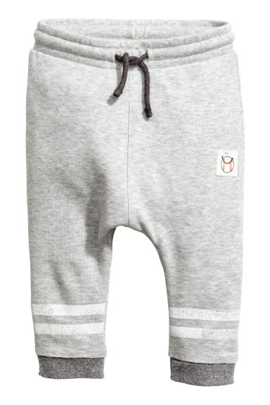 Sweatpants - Grey marl -  | H&M IE