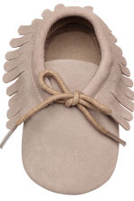 Suede moccasins - Light mole -  | H&M 3