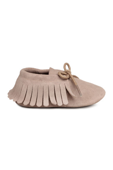 Suede moccasins - Light mole -  | H&M 1