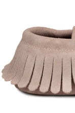 Suede moccasins - Light mole -  | H&M 4