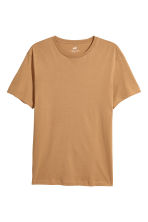 Cotton T-shirt Regular fit - Camel - Men | H&M CN 2