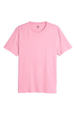 Cotton T-shirt Regular fit - Pink - Men | H&M CN 2
