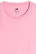 Cotton T-shirt Regular fit - Pink - Men | H&M CN 3