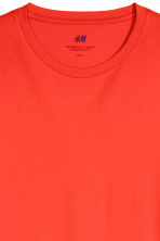 Katoenen T-shirt - Regular fit - Helderrood - HEREN | H&M NL 2