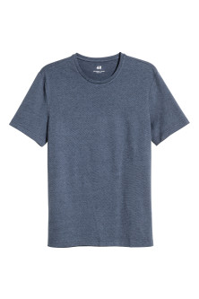 Round-necked T-shirt Slim fit