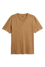 T-shirt Regular fit - Camel - HOMME | H&M CH 2