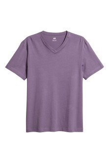 V-ringad t-shirt Regular fit