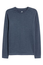 Jersey top Slim fit - Blue - Men | H&M CN 2