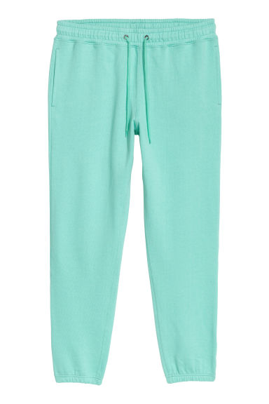 Pantaloni in felpa - Verde menta - UOMO | H&M IT 1