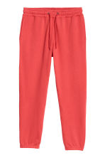 Sweatpants - Helderrood - HEREN | H&M NL 1
