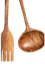3-piece kitchen utensil set - Natural - Home All | H&M GB 3