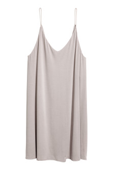 Šaty slip dress