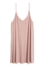 Slip dress - Powder pink - Ladies | H&M CN 2