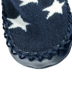 Moccasins - Dark blue/Stars - Kids | H&M 2
