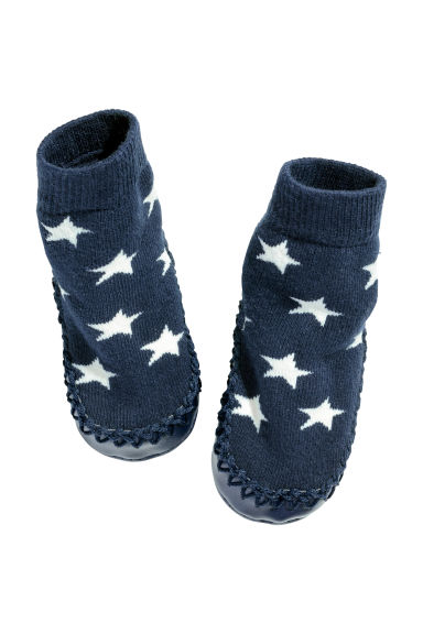 Moccasins - Dark blue/Stars - Kids | H&M 1