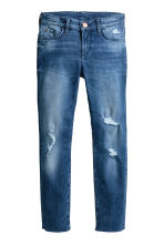 Skinny fit Worn Jeans - Bleu denim - ENFANT | H&M BE 2