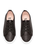 Trainers - Black/Glitter - Kids | H&M 3