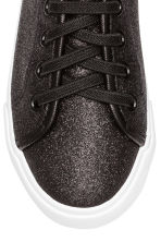 Trainers - Black/Glitter - Kids | H&M CN 4