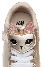 Shimmering metallic trainers - Gold-coloured - Kids | H&M CN 3