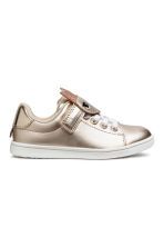 Shimmering metallic trainers - Gold-coloured - Kids | H&M CN 2