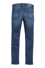 Skinny fit Satin Jeans - Dark denim blue -  | H&M CA 3