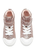 Hi-top trainers - Pink/Glittery - Kids | H&M 2