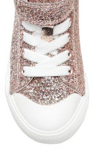 Hi-top trainers - Pink/Glittery - Kids | H&M 3