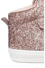 Hi-top trainers - Pink/Glittery - Kids | H&M 4