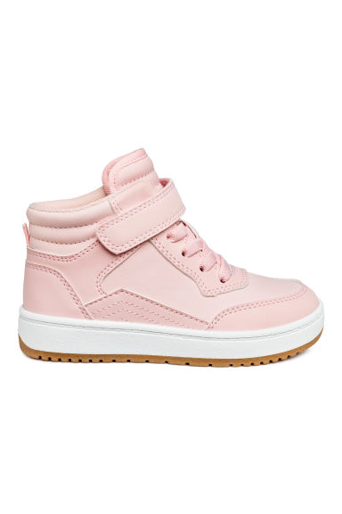 Hi-top trainers - Light pink -  | H&M 1
