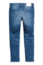 Skinny Fit Biker Jeans - Denimblauw - KINDEREN | H&M BE 3