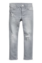 Skinny fit Jeans - Grey denim -  | H&M CN 2