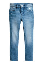Skinny fit Worn Jeans - Denim blue - Kids | H&M 2